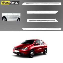 Buy Tata Indigo White Chromed Side Beading online at low prices-RideoFrenzy