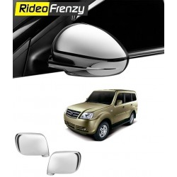 Buy Tata Sumo Grande Chrome Side Mirrors online at low prices-RideoFrenzy