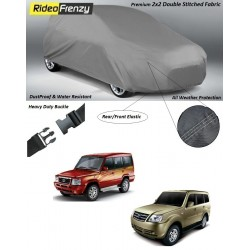 Buy Heavy Duty Tata Sumo Car Body Covers online at low prices-RideoFrenzy