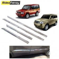 Buy Stainless Steel Tata Sumo Chrome Side Beading online at low prices-RideoFrenzy