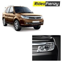 Buy Premium Quality Tata Safari Storme Chrome Head Light online at low prices-RideoFrenzy