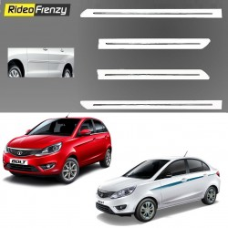 Buy Tata Zest & Bolt White Chromed Side Beading online at low prices-RideoFrenzy