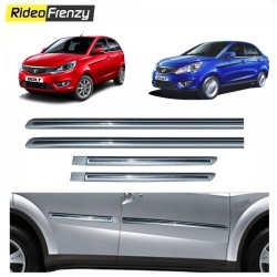 Buy Tata Zest & Bolt Silver Chromed Side Beading online at low prices-RideoFrenzy
