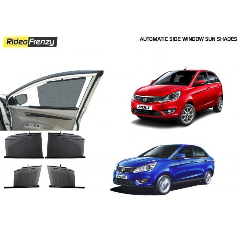 Buy Tata Zest & Bolt Automatic Side Window Sun Shade online at low prices-RideoFrenzy