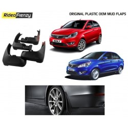 Buy Original OEM Tata Zest & Tata Bolt Mud Flaps online at low prices-RideoFrenzy
