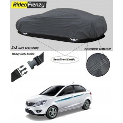 Buy Heavy Duty Tata Zest Car Body Cover online at low prices-RideoFrenzy