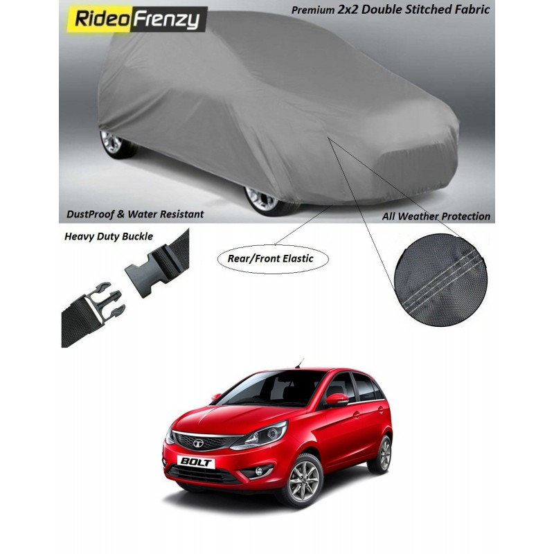 Buy Heavy Duty Tata Bolt Car Body Cover online at low prices-RideoFrenzy