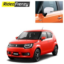 Buy Maruti Ignis Chrome Mirror Covers online at Low prices-RideoFrenzy
