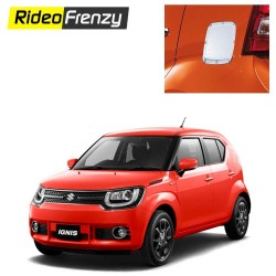 Buy Maruti Ignis Chrome Petrol Tank Covers online at Low prices-RideoFrenzy
