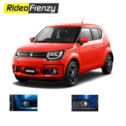 Buy Maruti Ignis Chrome Fog Lamps Covers/Rim online at Low prices-RideoFrenzy