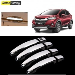 Buy Honda WRV Door Chrome Handle Covers online at low prices-RideoFrenzy