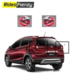 Buy Honda WRV Chrome Tail Light Covers online at Low prices-RideoFrenzy