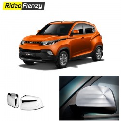Buy Mahindra KUV100 Chrome Mirror Covers online at low prices-RideoFrenzy