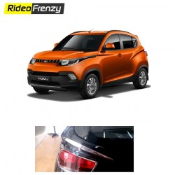 Buy Mahindra KUV100 Rear Chrome Eyebrows online at low prices-RideoFrenzy