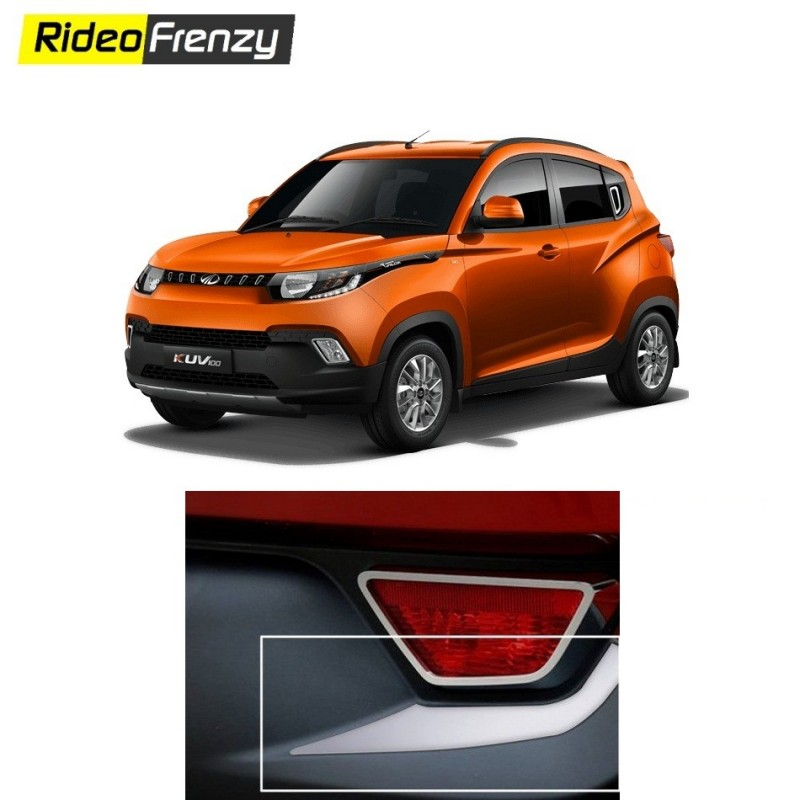 Buy Mahindra KUV100 Rear Chrome Cat Eye online at low prices-RideoFrenzy