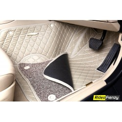 Buy Jeep Compass Full Coverage 7D Floor Mats online at low prices-RideoFrenzy