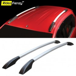 Buy Premium Black & Silver Highline Roof Rails online at low prices-RideoFrenzy