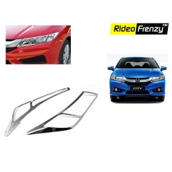 Buy Honda City Ivtec/idtec Chrome HeadLight Covers online at low prices-RideoFrenzy