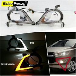 Buy Toyota Innova Crysta LED DRL Kit at low prices-Rideofrenzy