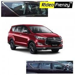 Buy Innova Crysta Stainless Steel Chrome Window Garnish at low prices-RideoFrenzy