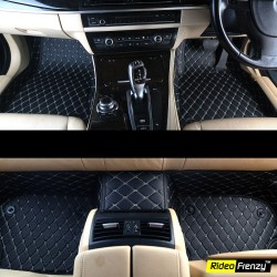 Buy Maruti Baleno Full Coverage 7D Floor Mats-Black online at low prices-RideoFrenzy