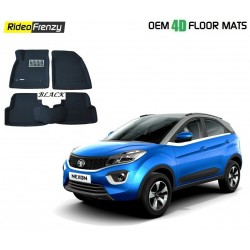 Buy Ultra Light Bucket 4D Crocodile Floor Mats for Tata NEXON at low prices-RideoFrenzy