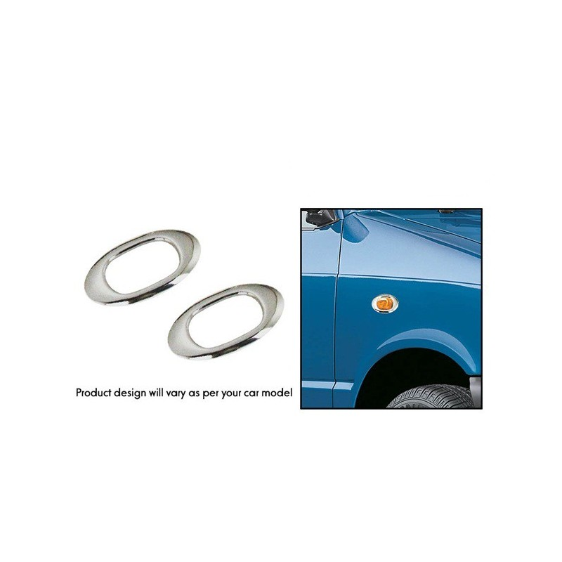 PREMIUM QUALITY CHROME FOG LAMP COVER