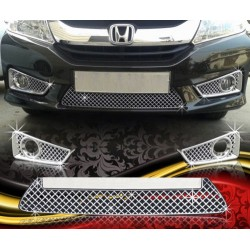 Buy Honda City Ivtec/Idtec Chrome Grill Covers at low prices-Rideofrenzy