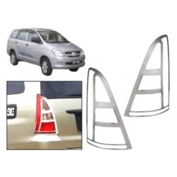 Premium Quality Chrome Tail Light Cover for Toyota Innova 1st Gen