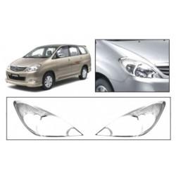 Premium Chrome Head Light Cover for Toyota Innova 1st gen