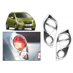 Buy Chevrolet Beat Chrome Tail Light Covers at low prices-RideoFrenzy