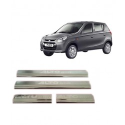 Buy Original OEM Maruti Alto 800 Door Stainless Steel Sill Plate at low prices-RideoFrenzy