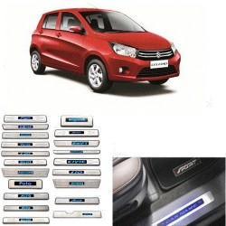 Maruti Celerio Sill Plate with blue LED