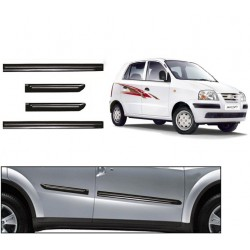 Buy Hyundai Santro Xing Black Chromed Side beading at low prices-RideoFrenzy