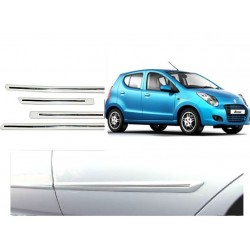 Maruti A-Star White Chrome Side beading