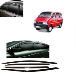Unbreakable Maruti Eeco Door Visors in ABS Plastic