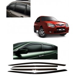 Buy Unbreakable Ford Ikon Door Visors in ABS Plastic at low prices-RideoFrenzy