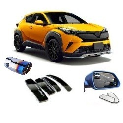 EXTERIOR ACCESSORIES FOR SWIFT