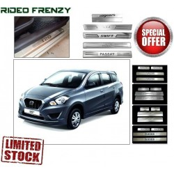 Buy Datsun Go Plus Door Stainless Steel Sill Plates online at low prices | Rideofrenzy