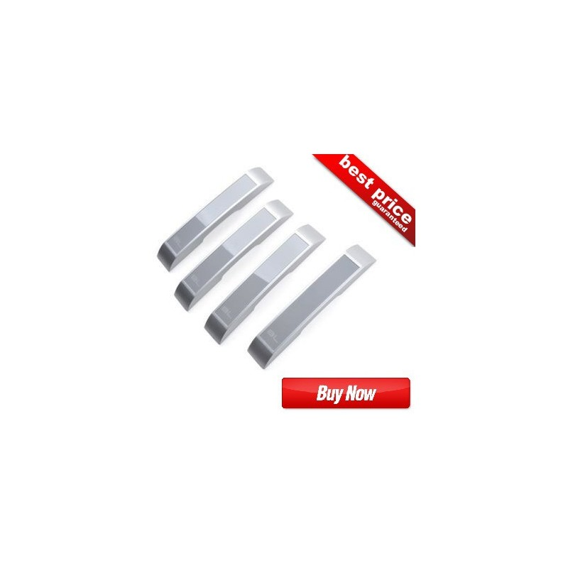 Buy Original Classic Silver Black Label(BL) Door Guards at low prices-RideoFrenzy