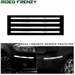 Buy Triple Layered Chromed Bumper protectors at low prices-RideoFrenzy