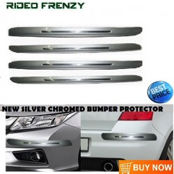 Buy Original SKI Silver Line Bumper Protectors at low prices-RideoFrenzy