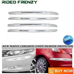 Buy Original SKI White Line Bumper Protectors at low prices-RideoFrenzy