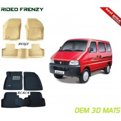 Ultra Light Bucket 4D Floor Mats for Maruti Eeco
