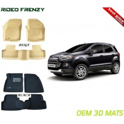 Buy Ford Ecosports Bucket 4D Crocodile Floor Mats online at low prices | Rideofrenzy