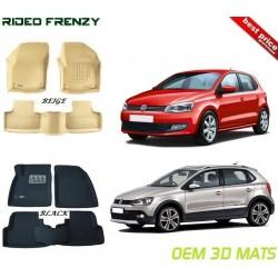 Buy Volkswagen Polo & Ameo Ultra Light Bucket 4D Crocodile Floor Mats online | Rideofrenzy