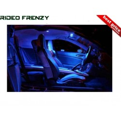 Buy Blue Color 24 LED Light Car Roof Light (Dome Light) at low prices-RideoFrenzy