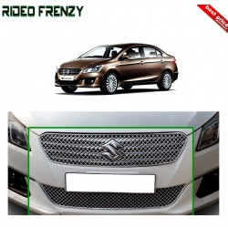 Buy Maruti Ciaz Full Chrome Grill Upper+Lower at low prices-RideoFrenzy