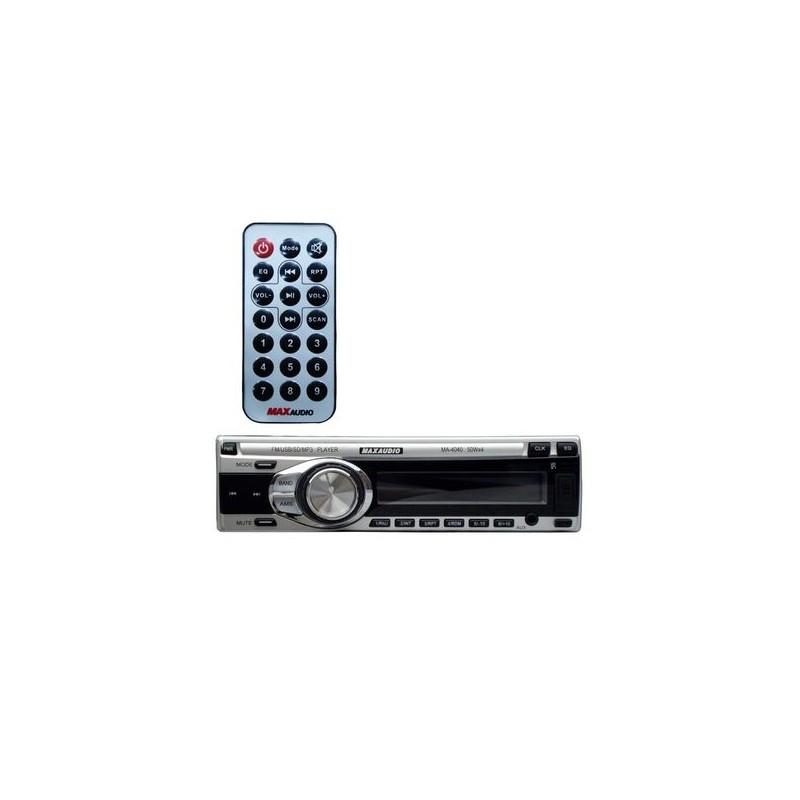 Max Audio MA-4040 Car MP3/FM/USB/SD/MMC/AUX Player