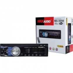 Max Audio MA-5050 Car MP3/FM/USB/SD/MMC/AUX Player